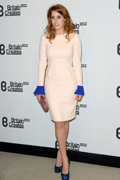 Princess Beatrice of York attends Britain Creates 2012: Fashion & Art Collusion