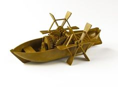 Watercraft Model Kits - Academy Da Vinci Paddle Boat >>> To view further for this item, visit the image link.