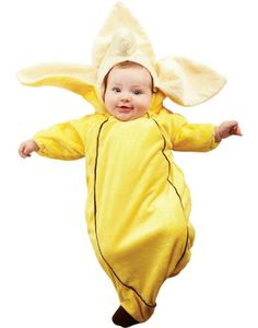 Our Banana Costume Baby Bunting features a yellow plush one-piece bunting with an attached  sc 1 st  Pinterest & Everyone will go bananas over your little bundle in this too-cute ...