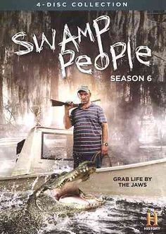 This set contains every episode from the 6th season of SWAMP PEOPLE the reality show that follows the lives of several authentic Cajuns as they live in the swamps of Louisiana and often earn income by