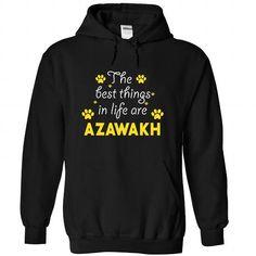 AZAWAKH The Awesome T Shirts, Hoodies, Sweatshirts. CHECK PRICE ==► https://www.sunfrog.com/Holidays/AZAWAKH-the-awesome-Black-59146508-Hoodie.html?41382