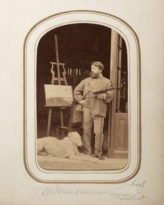 Jean-Louis-Ernest Meissonier Eugene Ionesco, Artist Studios, Famous Artists, Victorian Era, Artist At Work, Painters, Thrifting, Photos, Pictures