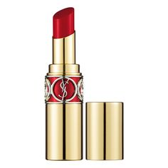 I will never wear another lipstick.... So obsessed and it smells delicious - Rouge Volupté Shine In Danger - Yves Saint Laurent