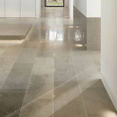 Jura Grey Limestone Tiles 406 x free length 406 x Limestone Tile, Stone Tiles, Tile Flooring, Kitchen Flooring, Tile Suppliers, Tile Stores, Wall And Floor Tiles, Front Porches, Bath Ideas