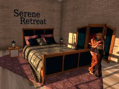 PrimBay - Serene Retreat Lesbian bed by PRIME