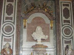 Versailles, France - Versailles Palace, Salon de Diane, the bust statue of Louis XIV