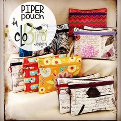 Looking for your next project? You're going to love FREE ~ Piper Pouch by CloBird Designs by designer CloBird Designs. - via @Craftsy