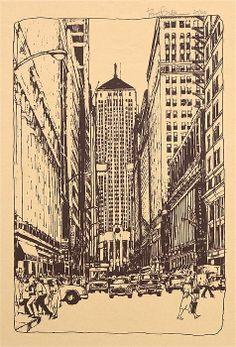 Chicago Commodities Exchange Bldg - Robert Birkenes