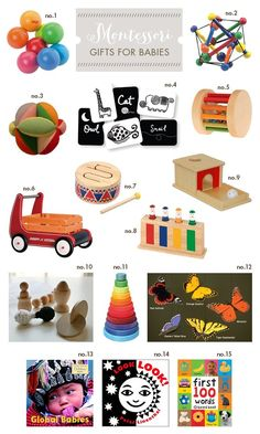 613a5fb72 Top Ten items for a Montessori Baby 6 months to 1 year