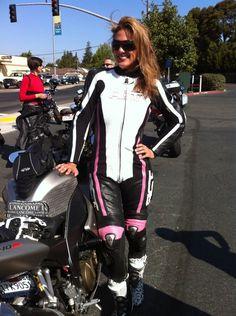 Love her custom ACT Racing Suit