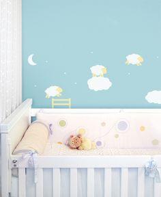 Adesivo de parede: ovelhinhas: GECKO Adesivos Decorativos