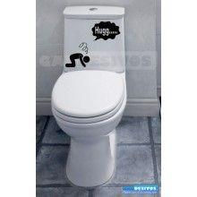 Adesivo de parede decorativos banheiro Hugg