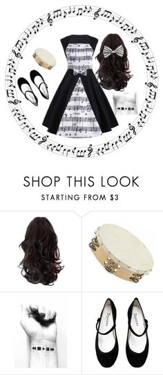 """""""Music Lover"""" by ambitiousdarby ❤ liked on Polyvore featuring Repetto"""