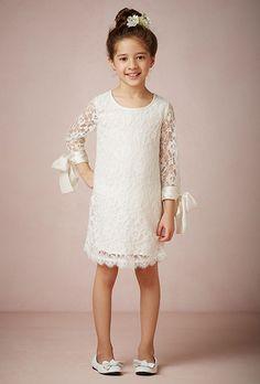 """Brides.com: 20 of the Cutest Flower Girl Dresses  Style 29574027, """"Lyla"""" flower girl dress, $140, BHLDNPhoto: Courtesy of BHLDN"""