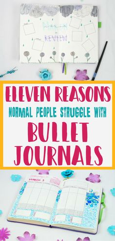 Bullet journal inspiration- Learn how to stop struggling with your bullet journal and overcome any challenges you may have with your bujo!