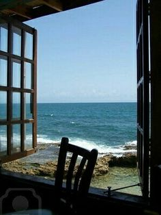 Ventana vistas al mar