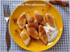 Pierogi leniwe - przepis podstawowy - Polish farmers cheese dumplings