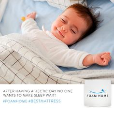 After having a hectic day no one wants to make sleep wait! #Foamhome #bestmattress