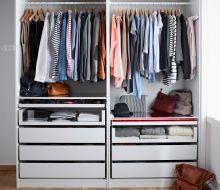 two wardrobes in one thatus the joy of storage ikea