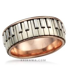 Piano Ring Perfect For The Music Lover