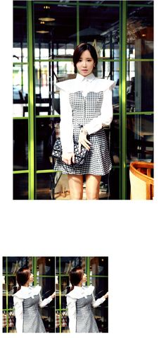 Short Cap Shoulder Blouse - I know you wanna kiss me. Thank you for visiting CHUU.