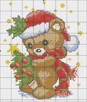 Мобильный LiveInternet схемы вышивки снеговиков, санты, елочек, игрушек...   сини4ка - Дневник сини4ка  
