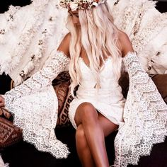 Loving Lace Bell Sleeves