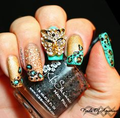 Nails of Aquarius: That's One Cool Cat featuring KBShimmer Spot Sign