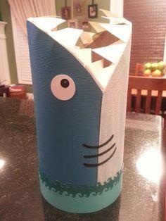 Valentine's Day Shark Box