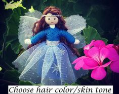 Fairy Doll  Rainbow Flower Doll  Bendy Doll  Princess Doll