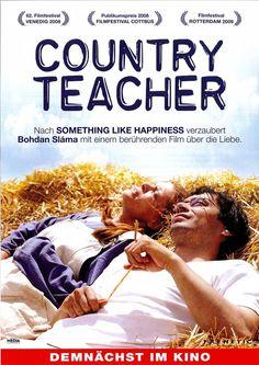 COUNTRY TEACHER - PAVEL LISKA - ZUZANA BYDZOVSKA - 2008 - FILMPOSTER A4