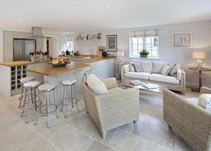 6 bedroom detached house for sale in Church End, Bletchingdon, Near Oxford, - Rightmove. Kitchen Family Rooms, House Extensions, Open Plan Living, Detached House, Interior Design Inspiration, Home Kitchens, Property For Sale, New Homes, Living Room