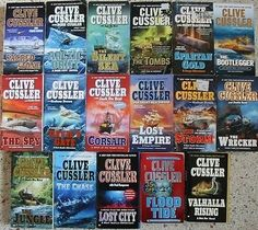This is for a lot of 17 Clive Cussler Adventure. Books are in Good condition, books have minor spine creases, a couple have no spine creases pages are tight and clean. Clive Cussler, Adventure Books, Literature, Action, Free Shipping, Awesome, Literatura, Group Action