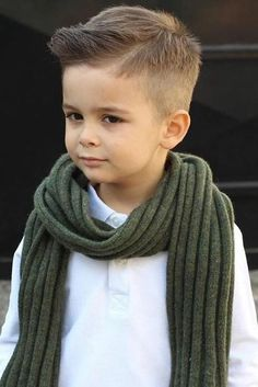 Trendy Boy Haircuts for Stylish Little Guys ★ See more: http://lovehairstyles.com/boy-haircuts-trends/