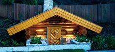 original finnische Maa®-Sauna Finnish Sauna, Places To Go, Spa, House Styles, Wellness, Home Decor, Cubes, Steam Room, Sauna Ideas