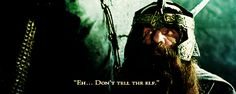 """Never toss a dwarf!"" ... ""You'll have to toss me...don't tell the elf..."""