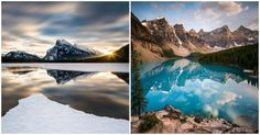 Top 12 des photos du Parc national de Banff au coeur des montagnes rocheuses canadiennes