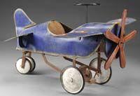 pedal plane
