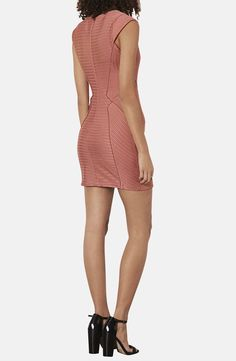 Topshop Bandage Jersey Body-Con Dress | Nordstrom