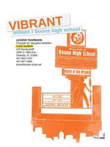 Yearbook Ideas, Title Page, High School, Senior Yearbook Ideas, Grammar School, High Schools, Secondary School, Middle School