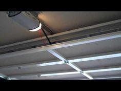 screenex retractable pull down garage door screen