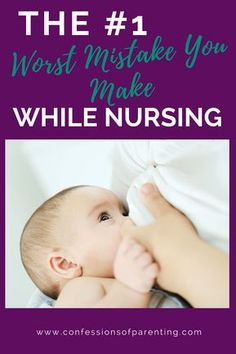 Pin Now! The#1Worst Mistake You Make While Nursing. Come and find out what you can be doing while nursing your little one.#baby#nursing#breastfeeding#momlife#nursingproblems#phone#phoneaddiction