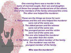 Murder Mystery Family