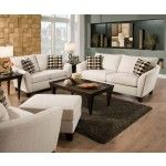 Acme Furniture - Desmond 3 Piece Living Room Set in Off White - 51010-3SET