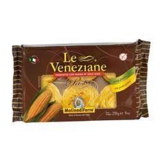 Le Veneziane Capellini (vermicelli nestjes) 250 Gram - Glutenvrijemarkt.com Capellini, Snack Recipes, Snacks, Spaghetti, Chips, Pasta, Food, Snack Mix Recipes, Appetizer Recipes