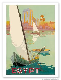 Egypt - Boats on the Nile