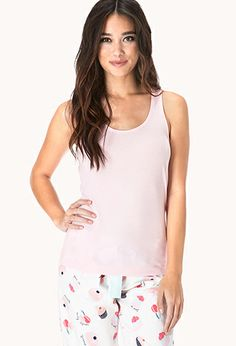Super Sweet PJ Set | FOREVER21 - 2040495156