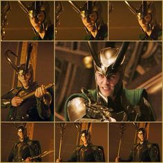 Tom Hiddleston as Loki in Thor (2011)