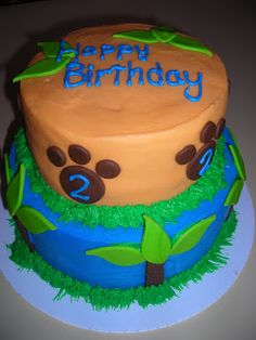 Go Diego Go Waterfall Cake They Say Its Your Birthday - Go diego go birthday cake