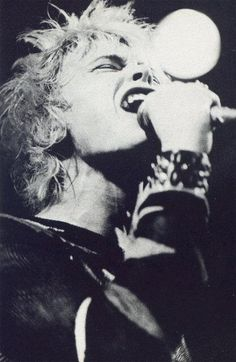 BILLY IDOL From The FEELING MAGAZINE 1978